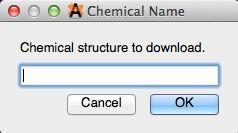 Importing Molecules by Name - Avogadro